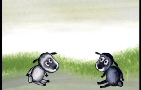 deux agneaux